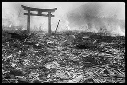 Nagasaki  1945, after the atomic bomb