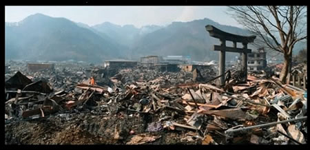 Nagasaki 2011,  following earthquake and tsunami