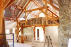 Island School of Building Arts - Construction of Great Hall - Insulation