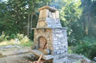 Outdoor Rumford fireplace