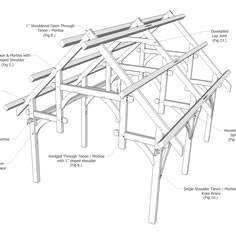 Timber Frame Bents