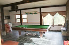 Pool Room with Rumford Fireplace, Bathroom #1
